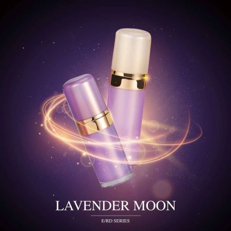 Lavender Moon (Round Acrylic Cosmetic Packaging)