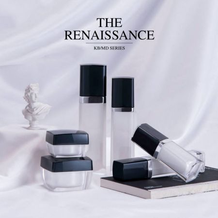 The Renaissance (Square Acrylic Cosmetics Packaging)
