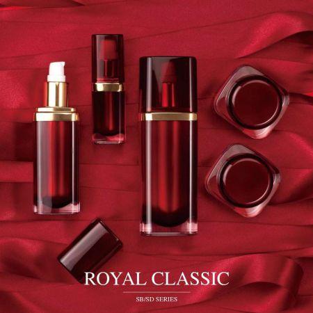 Royal Classics (Rectangular Base Acrylic Cosmetic Packaging Series)