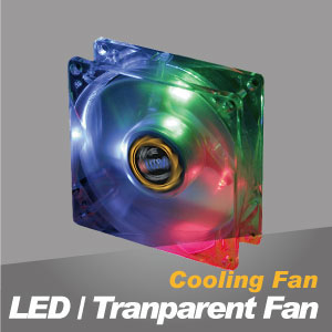 LED & Transparent Cooling Fan