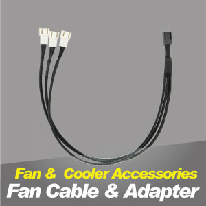 TITAN cooling fan cable and cooling adapter.