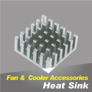 Heat sink thermal patch with various sizes to provide a better cooling performance.