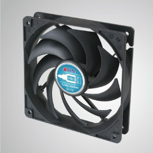 120mm portable cooling fan, it can stick onto any devices with USB interface.
