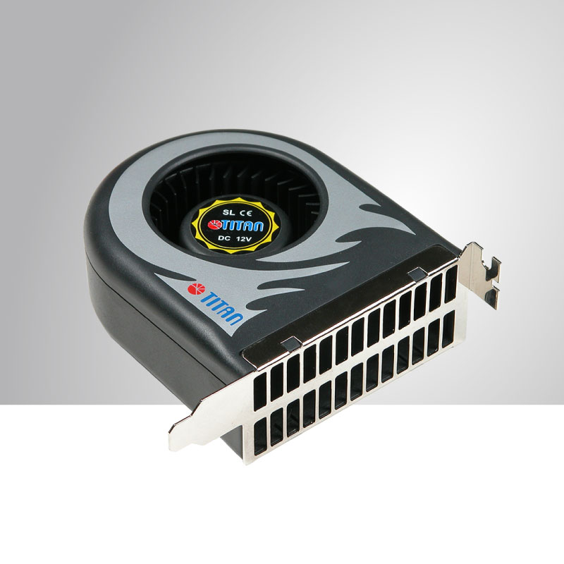TITAN High Static Pressure System Fan With 12V DC And 111 X 91 X 38mm Fan  (Double Size Fan). This Cooling Fan Can Extend Computer System Life And ...
