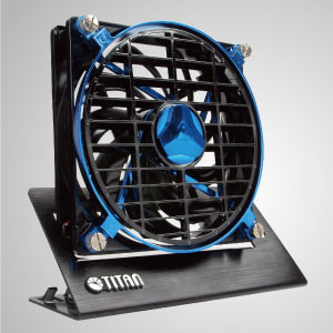 This professional fan particularly designed in high value metal base and exquisite outline. It has 3 major characteristics: high airflow, super silent, and long lifetime.