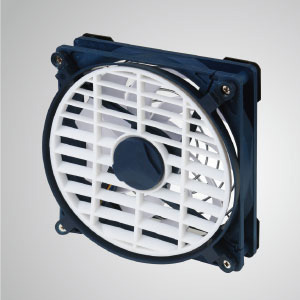 USB mobile portable cooling fan with embedded magnet, great for camping and outdoor activities use
