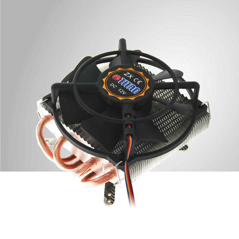 Refroidisseur d 39 air universel cpu avec 4 tubes de - Refroidisseur d air ...