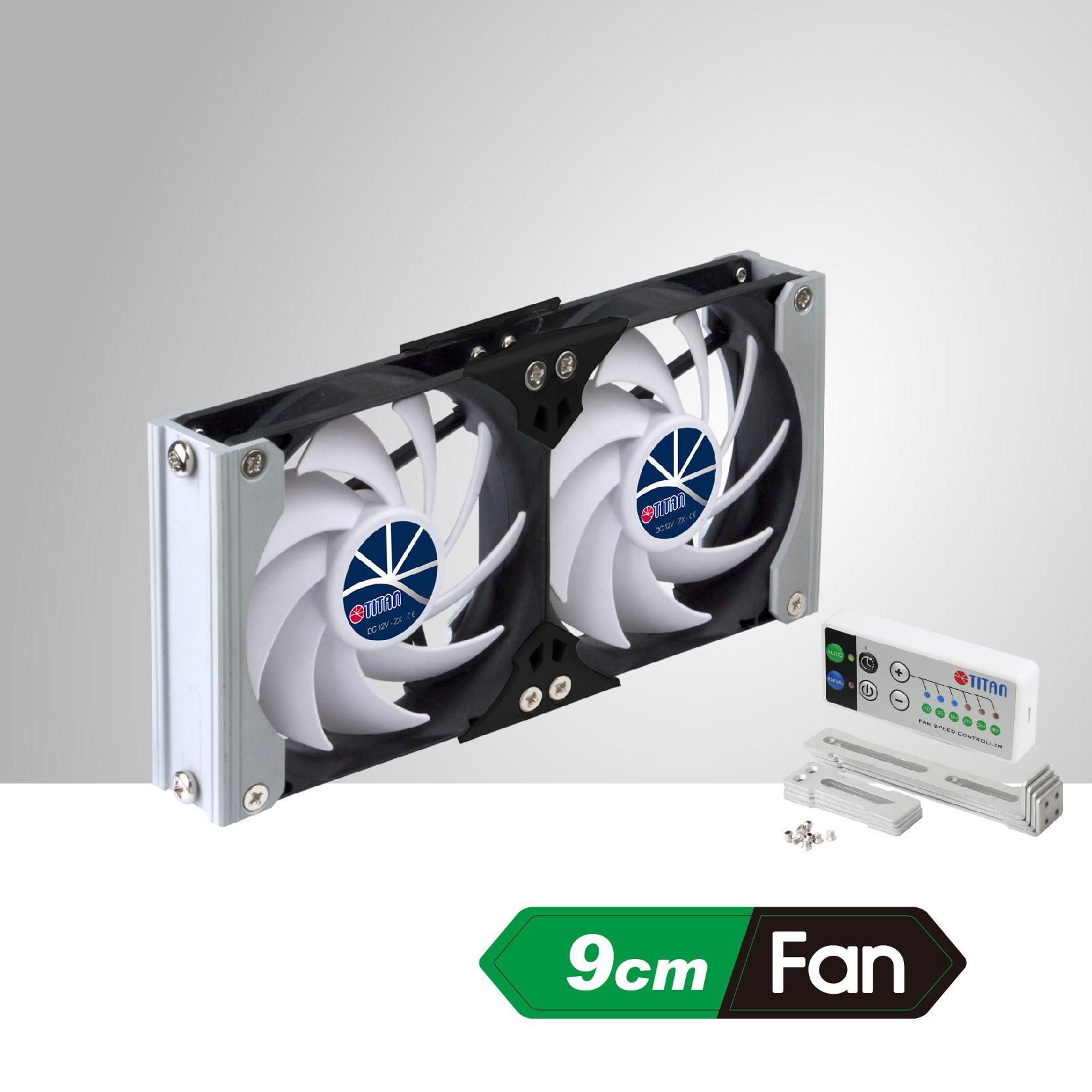 Rack Mount Cooling Fan Can Be Applied To Refrigerator Vent Fan In  Motorhome, Camper Van, Caravan, Travel Trailer, Or Be Audio/Vedio Cabinet  Fan, ...