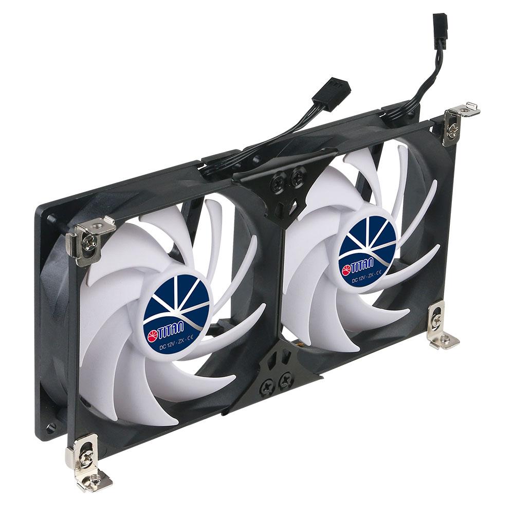 12V DC Double Rack Mount Ventilation Cooling fan for Refrigerator ...