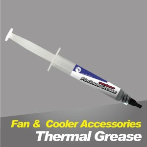 Thermal Grease - TITAN thermal grease, it can improve heat dissipation of CPU or VGA, providing greatly cooling performance.