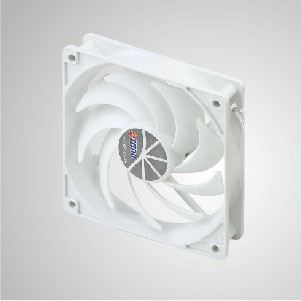"12V DC 120mm Kukri Silent Cooling Cloud Fan with 9-blades and 1/4"" Screw Holes for DIY mounting"