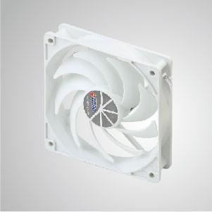 """12V DC 120mm Kukri Silent Cooling Cloud Fan mit 9-Klingen und 1/4 """"Schrauben Löcher für DIY Montage - TITAN-Kühlwolzenventilator mit umfangreicher Anwendung mit beliebigen Halterungen"""