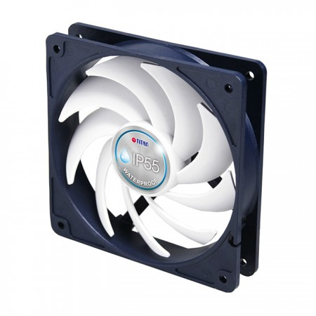 Features TITAN exclusive Kukri 9-blades silent PWM fan, equipping intelligent speed control, it can centralize airflow to accelerate heat dissipation and keep lower noise operation.