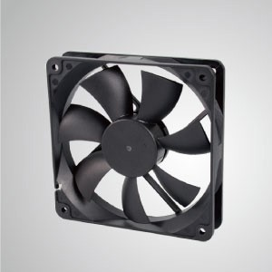 DC Cooling Fan with 120mm x 120mm x 25mm Series - TITAN- 12V DC Cooling Fan with 120mm x 120mm x 25mm fan, provides versatile speed types for user's need.