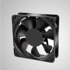 Ventilador de enfriamiento DC con serie de 120 mm x 120 mm x 38 mm - El ventilador de enfriamiento TITAN- DC con ventilador de 120 mm x 120 mm x 38 mm proporciona tipos versátiles para las necesidades del usuario.