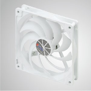 "12V DC 140mm Kukri Silent Cooling Cloud Fan with 9-blades and 1/4"" Screw Holes for DIY mounting"