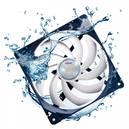 Professional grade of waterproof/dustproof cooling fan, let it can fit in any environment.