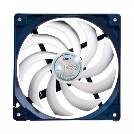 With two ball sleeves bearing type, this cooling fan is able to fit in high temperature operating with long lifetime.