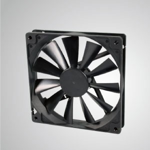 DC Cooling Fan with 140mm x 140mm x 25mm Series - TITAN- 12 V DC Cooling Fan with 140mm x 140mm x 25mm fan, provides versatile types for user's need.