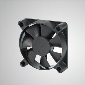 DC Cooling Fan with 60mm x 60mm x 15mm Series - TITAN- DC Cooling Fan with 60mm x 60mm x 15mm fan, provides versatile types for user's need.