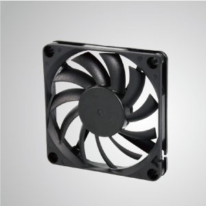 DC Cooling Fan with 70mm x 70mm x 10mm Series - TITAN- DC Cooling Fan with 70mm x 70mm x 10mm fan, provides versatile types for user's need.