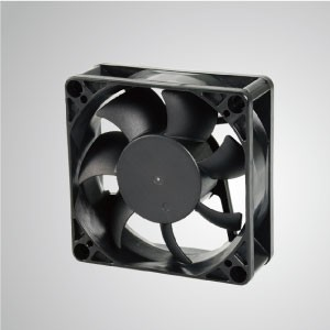DC Cooling Fan with 70mm x 70mm x 25mm Series - TITAN- DC Cooling Fan with 70mm x 70mm x 25mm fan, provides versatile types for user's need.