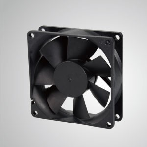 DC Cooling Fan with 80mm x 80mm x 25mm Series - TITAN- Cooling DC Fan with 80mm x 80mm x 25mm fan, provides versatile types for user's need.