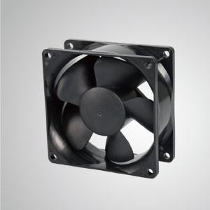 Ventilador de enfriamiento de CC con 80 mm x 80 mm x 35 mm serie - El ventilador de enfriamiento TITAN- DC con ventilador de 80mm x 80mm x 35mm, proporciona tipos versátiles para las necesidades del usuario.