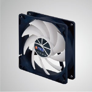 12V DC 92mm Kukri Silent Cooling Fan with 9-blades and PWM Function