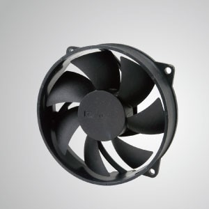 DC Cooling Fan with 95mm x 95mm x 25mm Series - TITAN- Cooling DC Fan with 95mm x 95mm x 25mm fan, provides versatile types for user's need.