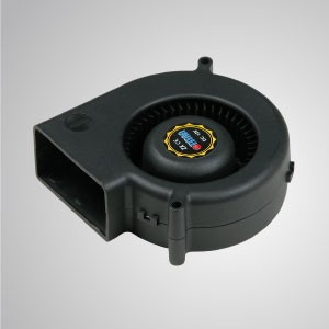 12V DC System Blower Cooling Fan- 75mm x 30mm Series - TITAN- 12V DC system blower cooling fan with 75mm fan, provides versatile speed types to meet user's need.