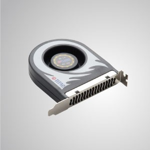 12V DC System Blower Cooling Fan- 110mm x 91mm x 22 mm - TITAN- DC system blower cooling fan with 110 x 91 x 22 mm fan, extend computer system life and reliability.
