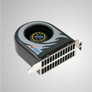 12V DC System Blower Cooling Fan (Double size fan)- 111mm  x 91mm x 38mm - TITAN- DC system blower cooling fan with 111 x 91 x 38mm fan (Double size fan), extend computer system life and reliability.