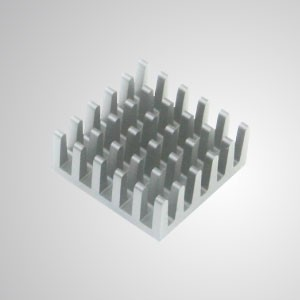Aluminum Heatsink Cooling Fins with Adhesive - 20mm x 20mm Pack of 8pcs