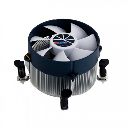Equipped with radial aluminum cooling fins, 30mm pure copper base and 90mm giant silent fan, this CPU cooling cooler is capable of accelerate heat transfer, TDP up to 130W, and enhance heat dissipation.