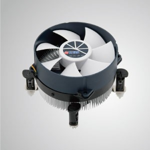 Intel LGA 1155/1156 CPU Air  Cooler with Aluminum Cooling Fins and 95mm cooling fan / TDP 95W - Equipped with radial aluminum cooling fins and silent fan, this CPU cooler can centralize airflow and effectively enhance thermal dissipation
