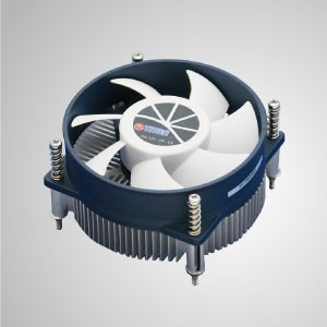 Intel LGA 1155/1156- Low Profile Design CPU Air  Cooler with Aluminum Cooling Fins / TDP 75W - CPU Air Cooling Cooler with Aluminum Soldering Fins and 95mm cooling fan