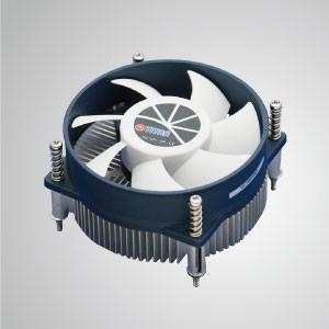 Intel LGA 1155/1156 Low Profile Design CPU Air  Cooler with Aluminum Cooling Fins / 48mm Height / TDP 75W - CPU Air Cooling Cooler with Aluminum Soldering Fins and 95mm cooling fan