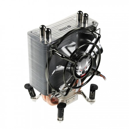With 10 cm noiseless fan, it provides great CPU cooling and silence performance. Let your computer operate in low-noise condition.