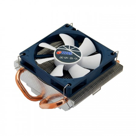 With two 6 mm direct contact heat pipes, significantly transfer the heat sink from CPU operation and boost airflow.