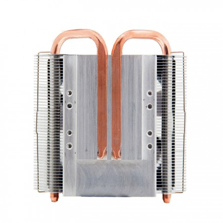 With four 6mm direct contact heat pipes, significantly transfer the heat sink from CPU operation, supporting TDP up to 130W.