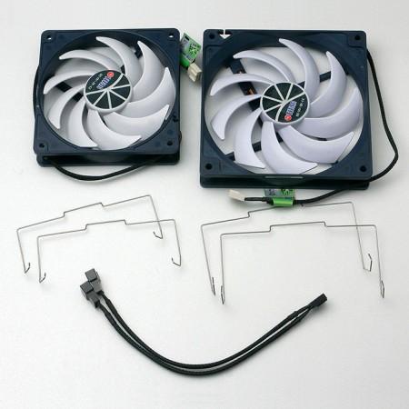 CPU cooler parts.