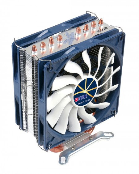 Optional mounting system for one or dual cooling fans.
