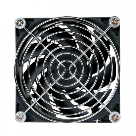 90mm quiet fan to reduce temperature.