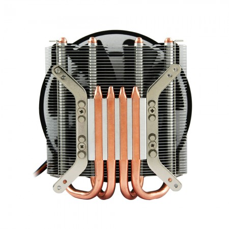 Direct contact heat pipes technology, provides great heat dissipation