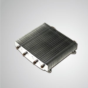 Universal- CPU Air Cooler with 4 DC Heat Pipes and Aluminium Fins - Universal CPU cooling cooler with 4 direct contact heat pipes and aluminum fins