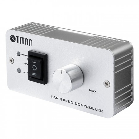 High value aluminum Speed Controller with auto speed control and maunl speed control.