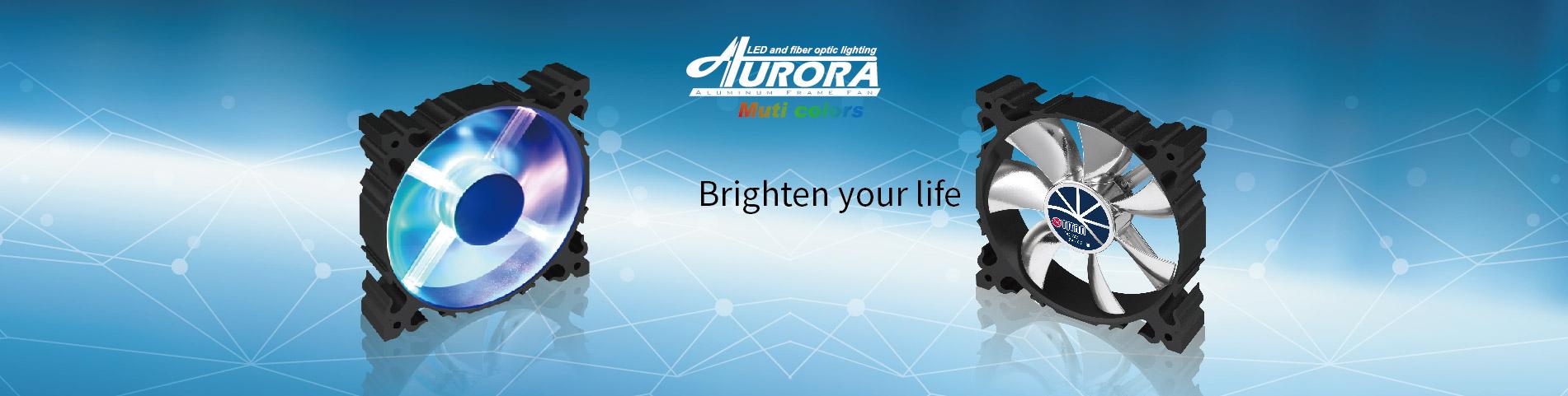 Aluminium LED Lüfter