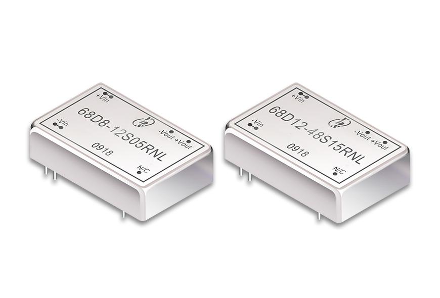 "1.25 ""x 0.8""DIP 패키지 DC-DC 컨버터 3 ~ 10W"