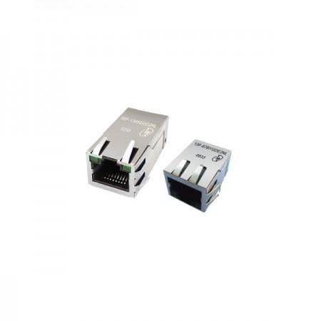 Single Port 100 / 1000 Base-TX PoE & PoE+ RJ45 Jack With Magnetics - Single Port 100 / 1000 Base-TX PoE & PoE+ RJ45 Jack With Magnetics